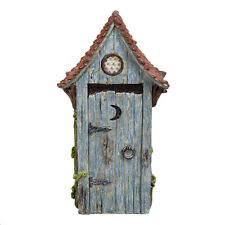 Vivid Arts Miniature World Blue Outhouse Enchanted Fairies Collectable Scaled