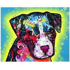 Faithful Pit Bull Print 8x10 by Dean Russo Discontinued - Ships Free