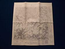 Landkarte Meßtischblatt 4309 Recklinghausen, Oer Erkenschwick, Horneburg, 1945