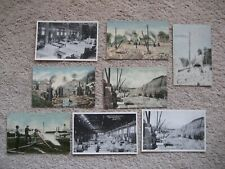Lot of 8 Antique Postcards Bedford Indiana Mill Stone Quarry Planing Stripping