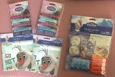 Disney Frozen Anna Elsa Olaf Girls Boys Birthday Party Favors NEW Toys Bracelet
