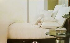Hotel Collection Verve Cream Coverlet Quilt ~ Queen ~ Ivory Quilted MSRP $310