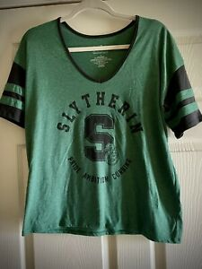 Harry Potter Slytherin Rugby T Shirt Small