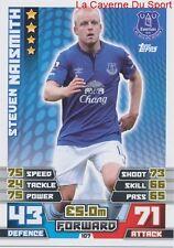 107 STEVEN NAISMITH # EVERTON.FC SCOTLAND CARD MATCH ATTAX 2015 TOPPS