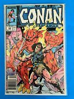 CONAN THE BARBARIAN VOL.1 #205 MARVEL COMICS 1988 VF (1970-1994 SERIES)