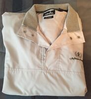 Ashworth Weather Systems Water/Wind Resistant Short Sleeve Jacket Large