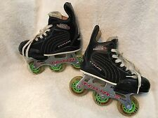 Tour Hockey Inline Hockey Skates Adjustable 27TY 3-BearingsTurbo Youth