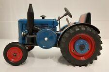 LANZ Bulldog 40 Blechtraktor mit Uhrwerkantrieb - ohne Ovp und Schlüssel !!! G19
