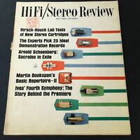 VTG HiFi Stereo Review Magazine July 1965 - Arnold Schoenberg Socrates in Exile