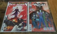 Batman #89 + Year Of The Villain: Hell Arisen #3 Second Printing Variant Set NM
