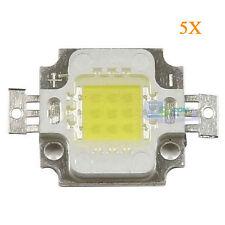 5Pcs 10W White 6000-6500K 900-950LM LED Chip SMD Light Lamp Bulb Bead DC9-12V