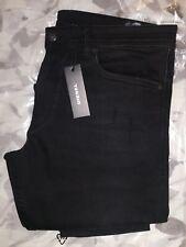 Diesel Thommer Black Jeans. 36/32. Slim Skinny Stretch