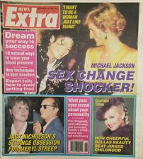 News Extra Tabloid Nov 15 1988 Michael Jackson Sex Change - Charlene Tilton