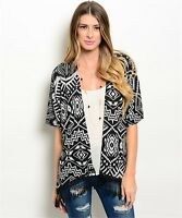 Batwing Poncho Loose Oversize Sweater Aztec Geometric Tribal Women's Shawl