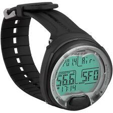 Cressi Leonardo Dive Computer Watch -Black / Black KS770000