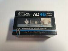TDK AD 46 3Pack Cassette Tape  (Sealed)