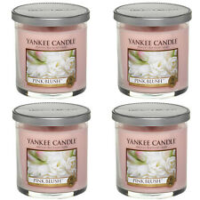 4 Bottles Pink Blush Small 7 oz Tumbler Candle by Yankee Candle