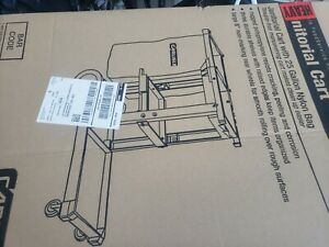 Janitorial cleaning cart brand new