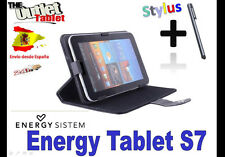 "FUNDA STAND NEGRA TABLET ENERGY SYSTEM S7 7"" UNIVERSAL BARATA"
