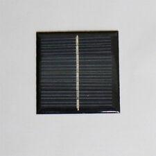 Mini Solar Panel 4V 100mAh 2 Pieces 60X60mm