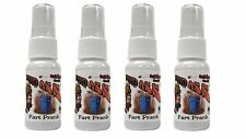 Liquid Ass 4-Pack Worlds Most Powerful Fart Spray, Stink Bomb, Prank, Joke.