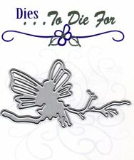 Dies ... to die for metal cutting craft die Fairy on a branch Limited