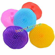 Plastic Shampoo Scalp Shower Body Washing Hair Soft Massage Brush Comb Gift