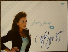 Signed JESSIE JAMES DECKER POSTER In-Person w/proof Autograph