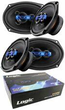 "4x 6x9"" 3 Way Coaxial High Power Speakers 1200 Watts 4 Ohm Pro Car Audio"