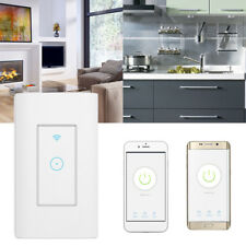 Smart Wi-Fi Light Switch in Wall Works For Amazon Alexa Google Home Android IOS