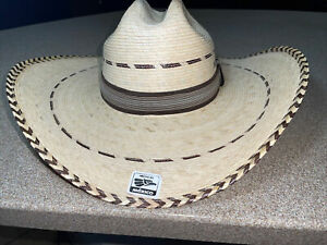 Strong Palm Straw Hat, L