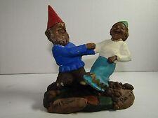 Rover & Ginny-R 1992~Tom Clark Gnome~Cairn #5204~Ed #49~Coa~Hand Signed~Story