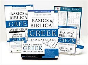Learn Biblical Greek Pack 2.0: Includes Basics of Biblical Greek Grammar, Fou...
