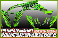 QUADZILLA XLC 320/500 ATV GRAPHICS DECALS ALL YEARS