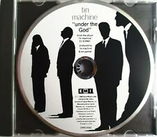 "DAVID BOWIE & TIN MACHINE - PROMO SINGLE CD ""UNDER THE GOD"" - LIKE NEW"
