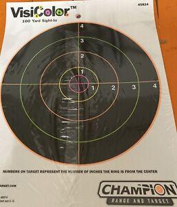 "Champion Visicolor 8"" Reactive targets ( 10 pk )"