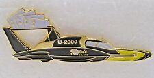 2000 FREDDIE'S CLUB large tack pin badge hydroplane racing