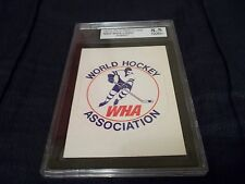1972-73 OPC O-Pee-Chee WHA Logo World Hockey Association UNPUNCHED KSA 8.5 NMM+