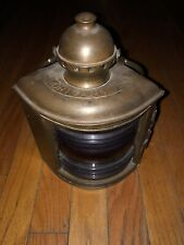 Vintage Antique Portclasses Ii8Iii Ship Boat Nautical Marine Lantern Light Brass