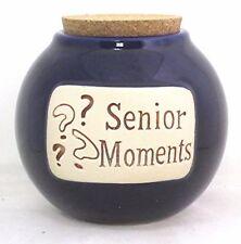 "Muddy Waters ""Senior Moments"" Money Jar Grandpa Grandma Old Timers Gray Hairs"