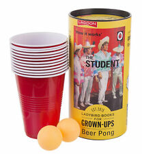 Ladybird Books for grown ups - The Student BEER PONG set
