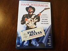 Hank Williams JR. Full Access DVD At Home and in Concert The Man - Myth - Legend