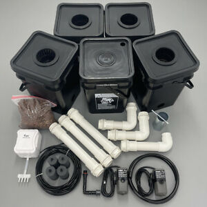 Recirculating Deep Water Culture (RDWC) Hydroponic Grow Kit System