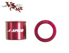 Apico Front Wheel Spacers Honda CRF150 07-17 RED