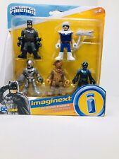 IMAGINEXT DC SUPER FRIENDS FIGURE 5 PACK BATMAN CYBORG BLUE BEETLE SCARECROW