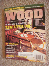 WOOD BY BETTER HOMES AND GARDENS NOV 1999 ISSUE #118 - WOODWORKING MAG