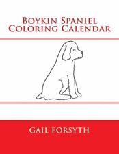 Boykin Spaniel Coloring Calendar