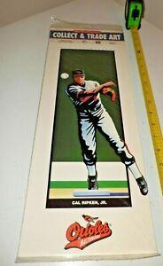 CAL RIPKEN JR. 1993 PLAYMAKERS COLLECT & TRADE ART BALTIMORE ORIOLES PRINT NEW !