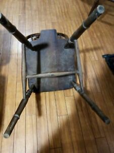 Antique kitchen wood chair use antique food