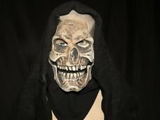 Grim Reaper Mask With Hood  Zagone Studios.UK Stock,Video Clip.
